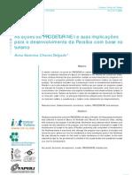 As ações do PRODETUR/ NE I e suas implicações para o desenvolvimento da Paraíba com base no turismo