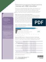 Telecommunications industry sheet 2018