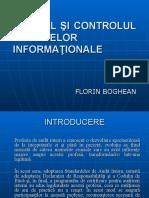 Auditul si Controlul Sistemelor Informationale