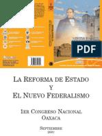 La reforma del Estado y El nuevo federalismo