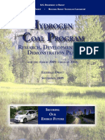DOE - H2 from Coal RDandD (2009)