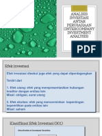 Pertemuan 6 Analisis Investasi Antar Perusahaan (Intercompany Investment Analysis)