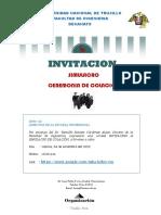 INVITACION COLACION