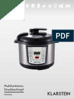 Klarstein 10031206 Pressure Cooker