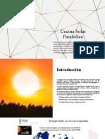 Cocina Solar Parabólica