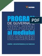 Program de Guvernare Mediu de Afaceri
