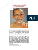 Dualità nella non dualità  di Śrī Svāmī Cidananda