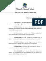Resolução CNJ digital