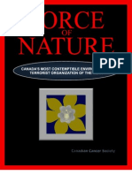Force Of Nature -- Canadian Cancer Society -- 2010 12 26 -- The Most Contemptible Enviro Terror Org of the Year -- MODIFIED -- pdf -- 300 dpi