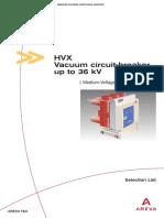 HVX selection list.pdf
