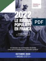 2022, le risque populiste - Vagues 2 et 3 (Avec questionnaire)
