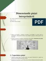 3. Dimensiunile Pieței Întreprinderii