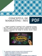 Mixul de marketing - Noțiuni introductive