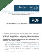 Jurisprudencia em Teses 152 - Dos Crimes Contra a Dignidade Sexual - II