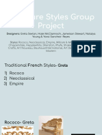 furniture styles group project
