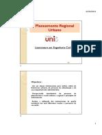 Cap 1 Processo de planeamento e gestão urbanísticos - conceitos fundamentais - PRU_1A