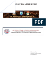 E LIBRARY MANAGMENT DEWARSHI