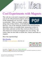 Magnet_Experiments_2004