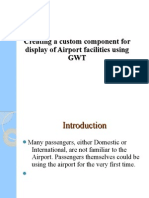 Creating a custom component for display of Airport