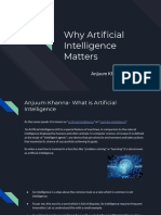 Anjuum Khanna-Why Artificial Intelligence Matters