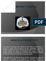 Promoter Funding