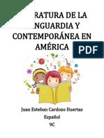 LITERATURA DE LA VANGUARDIA Y CONTEMPORÁNEA EN AMÉRICA.docx