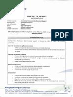 Annonce de vacance Contrôleur Permanent des fonctions support.pdf