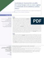 Eletroestimulação funcional do assoalho pélvico versus terapia com os cones vaginais para o tratamento de incontinência urinária de esforço.pdf