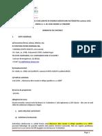 FISA PREZENTARE -Memoriu solicitare revizuire autorizatie mediu aug. 2018
