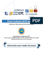 Final Caribeña 2019 (Sede Cubana) - InfoMediosPrensa