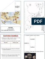 Cuadernillo Culturas Mesoamericanas Cuarto Grado