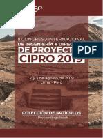 Proceedings Book - CIPRO 2019.pdf