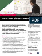 """""""Faciliter une démarche de Design Thinking"""""""