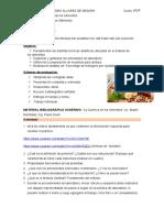 actividad- Proteina en alimentos