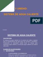 V) Agua Caliente - IMPAR 2020