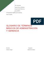 glosario de sistemas administrativos