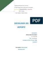 SOCIOLOGIA DEL DEPORTE