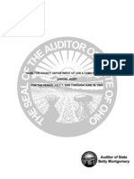 Hamilton County Department of Job and Family Services Special Audit for the Period July 1, 2000 through June 30, 2004