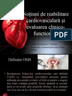 Notiuni de reabilitare cardiovasculara si evaluarea1