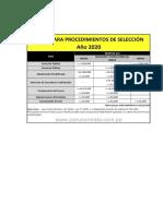 seleccion y compra de bienes segun OSCE