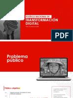 Programa de Transformación Digital (Octubre 2020)
