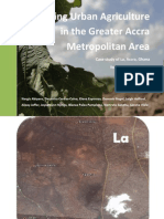 Sustaining Urban Agriculture in the Greater Accra Metropolitan Area, Case study of La