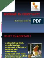 Mocktail Presentation