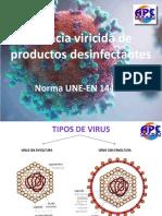 Eficacia viricida de productos desinfectantes DEFINITIVA.pptx