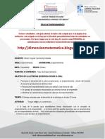 TIPOS DE EMPRENDIMIENTO 801 - 802