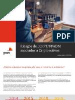 Riesgos de LCFTFPADM asociados a Criptoactivos
