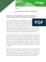 CAQ y Protocolo de Ginebra.