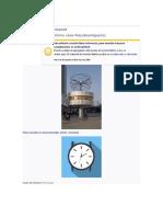 historia y funciones del reloj