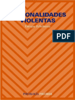 PERSONALIDADES VIOLENTAS - E. ECHEBURUA