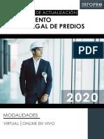 BROCHURE - PROGRAMA DE ACTUALIZACIÓN EN SANEAMIENTO FÍSICO LEGAL DE PREDIOS